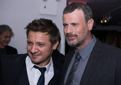 Jeremy Renner and Nick Schou arrrive at the 'Kill The Messenger' New York Screening - After Party at Michael's on October 9, 2014 in New York City. October 8, 2014 - Source: Dave Kotinsky/Getty Images North America